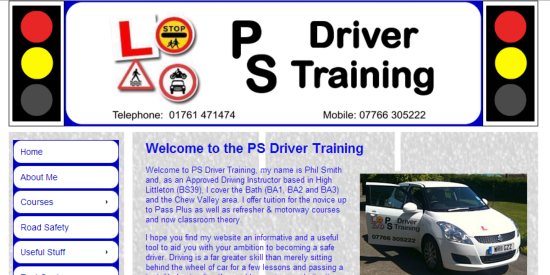 PS Driver Training site image
